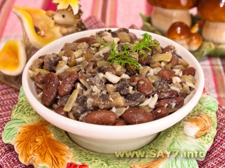 Салат с овощами и мясом рецепт 130