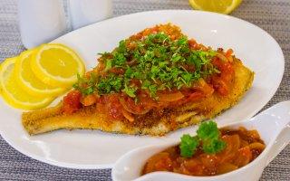 Комментарии к рецепту: Жареная рыба с грибами картинки