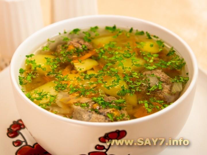 популярный рецепт супа из фрикаделек