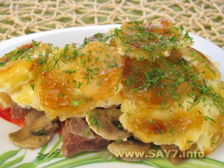 Рецепт вторых блюд на скорую руку пошагово