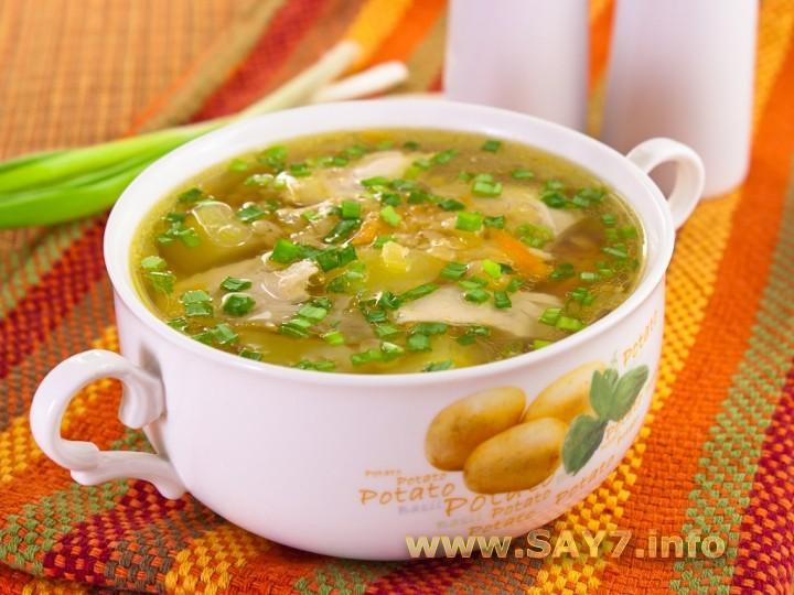рецепты супов из курицы с фото пошагово