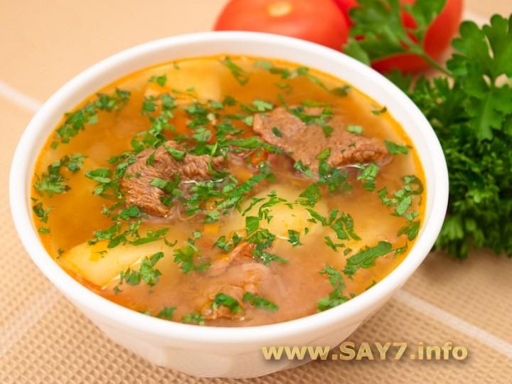 рецепт супа шорпа