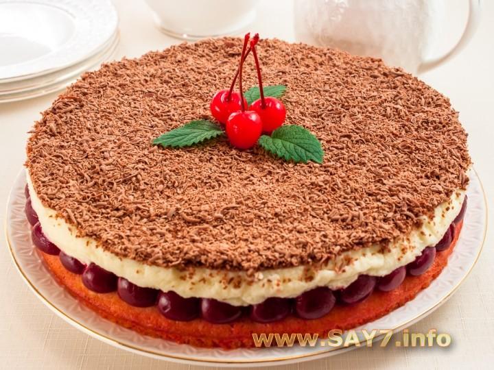 торт с ягодамий рецепт