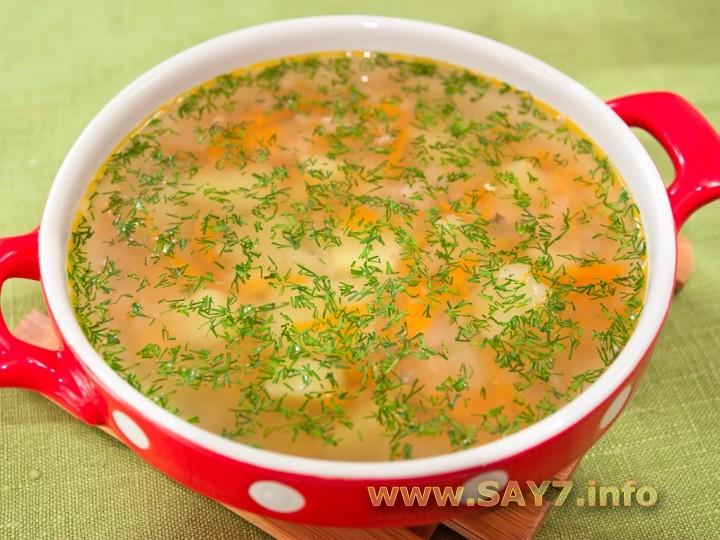 суп с консервами рыбными рецепт с фото