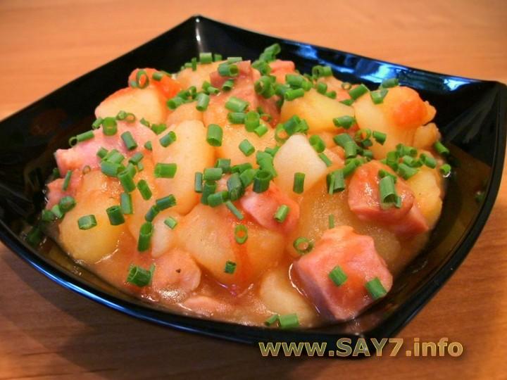 Картошка со свининой (98 рецептов с фото) - рецепты с ...