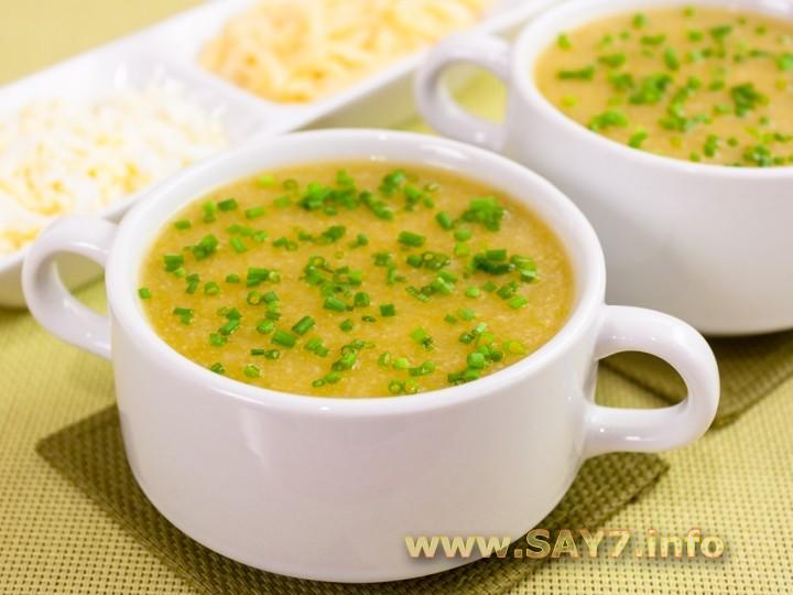 детский суп с кабачком рецепт