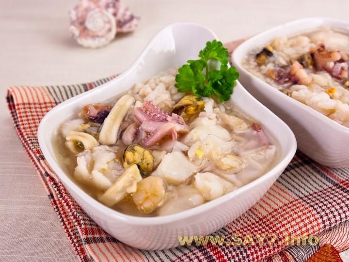 китайский суп с морепродуктами рецепты