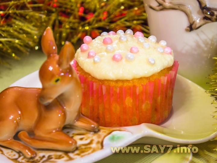 Кексы «Морковные