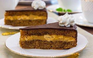 """Рецепт: Шоколадный торт """"Восторг"""""""