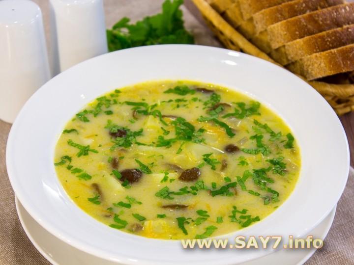 как приготовить суп из опят