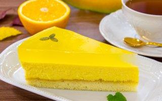 Тыквенный чизкейк с апельсиновым желе