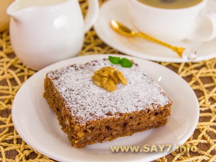 творожно ореховый пирог рецепт