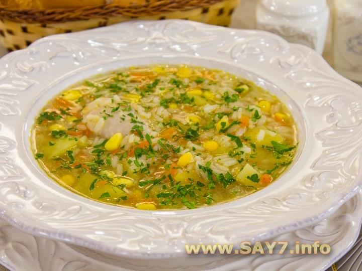 Рецепт суп из кукурузы