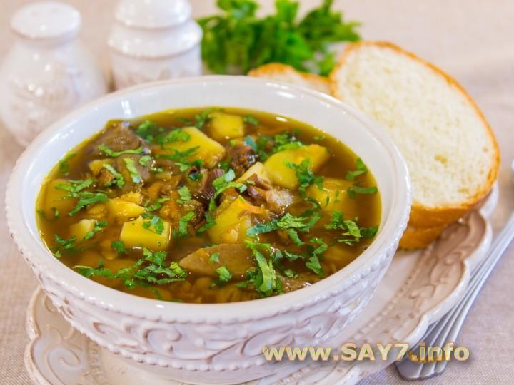 суп с шампиньонами рецепт 7