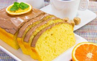 Рецепт: Апельсиновый манник