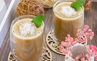 Кофейно-кокосовый коктейль