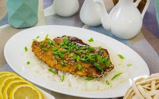 Рыба, маринованная в соусе  Терияки