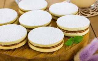 Рецепт: Печенье с вареной сгущенкой